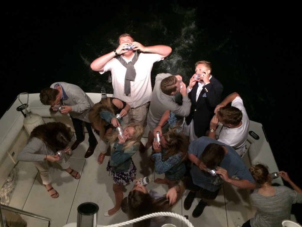Booze cruise shotgun to start off summer. TFM.