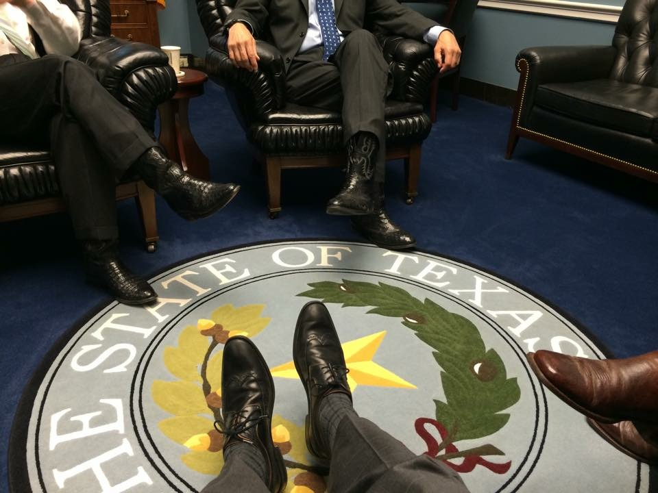 Congressmen in Texas representing the state right. TFM.
