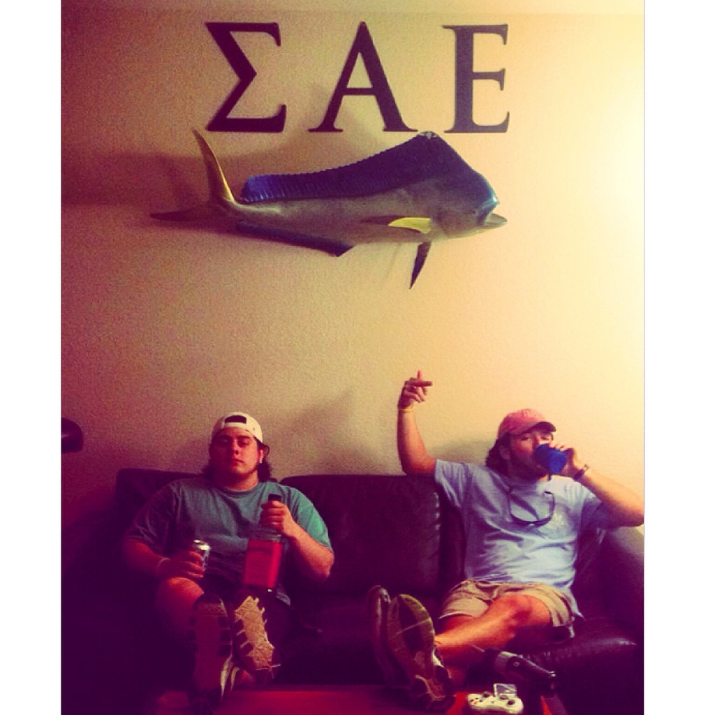 The Frat Castle. TFM.