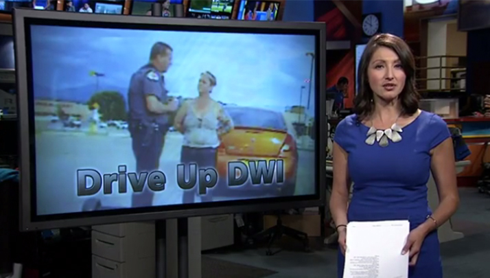 Woman Drives Drunk To Scene Of Husband's DWI , Gets DWI Too