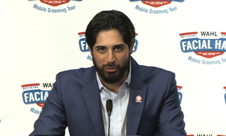 Gio Gonzalez Becomes First Athlete To Get His Beard Sponsored