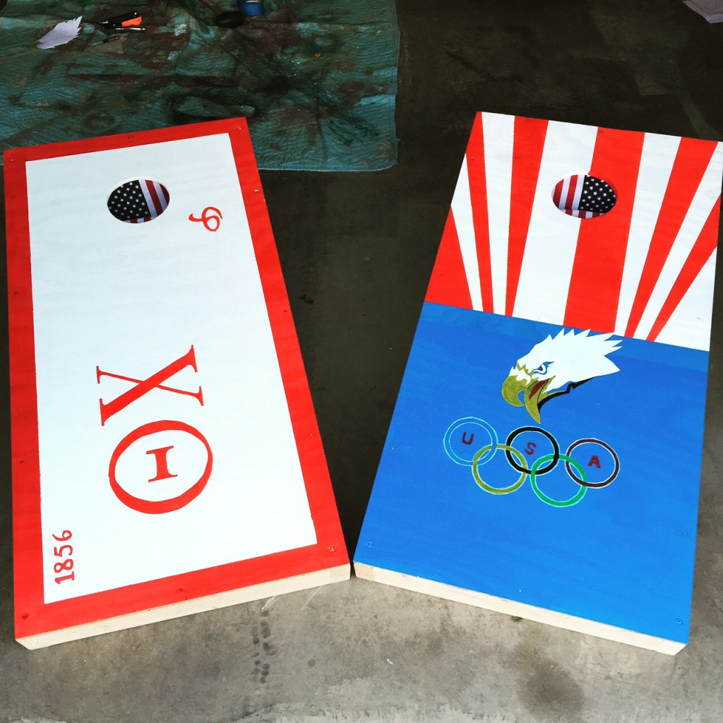 Having the best cornhole board in the game. TFM.