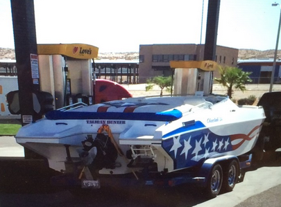 """Naming the boat you're selling """"The Taliban Hunter"""". TFM."""
