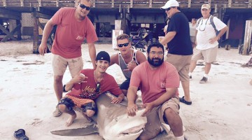 Canadians Capture And Kill 500-Pound Bull Shark Off Florida Coast