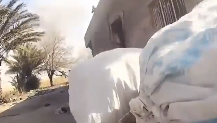 VIDEO- GoPro Wearing ISIS Member Takes A Bullet To The Dome