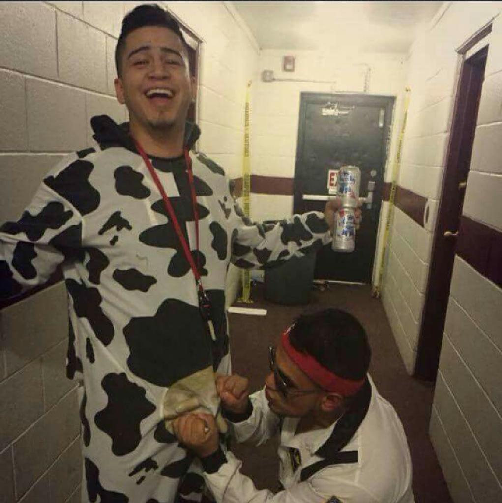 He's milking him.