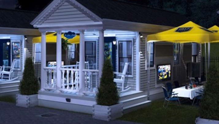 Georgia Southern Is Trying To Change The Tailgating Game This Coming Football Season With New Mini Mansions