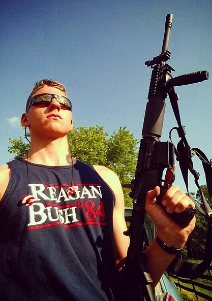 Celebrating the right to bear arms. TFM.