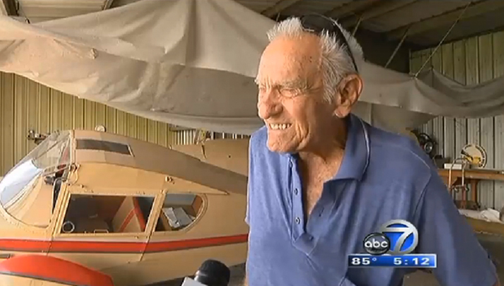 92 Year Old WWII Vet Successfully Lands Plane After Engine Fails, Walks Away