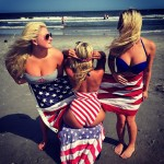 Red, white, and boobs. TFM.