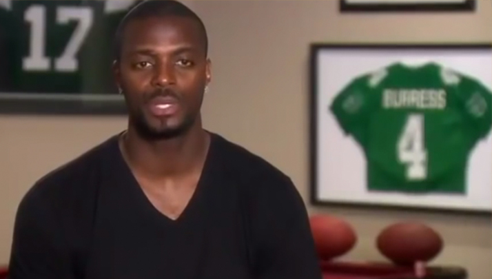 Plaxico Burres Ripped Nick Saban A New One On Twitter