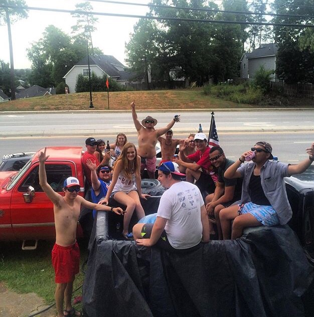 Making the best of being stuck in your shitty home town over the summer. TFM.