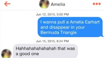 Ridiculous Tinder Pickup Lines, Part 50