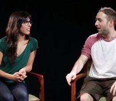 Things Get Awkward Fast When Girls Describe Boyfriend's Dick To A Sketch Artist