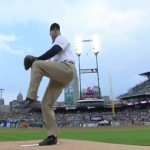 Jim Harbaugh Tucks Jersey Into Khakis And Fires Great First Pitch