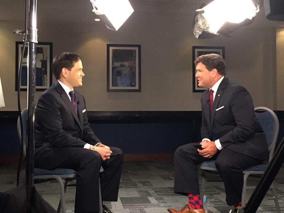 Bret Baier's sock game. TFM.