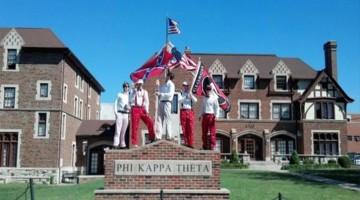 Mizzou Chancellor Thinks This Photo Of Georgia Fans Holding A Confederate Flag On Mizzou's Campus Is Threatening