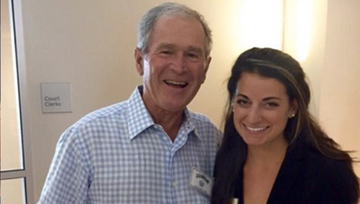 George W. Bush Continues Being Awesome, Shows Up For Jury Duty In Dallas