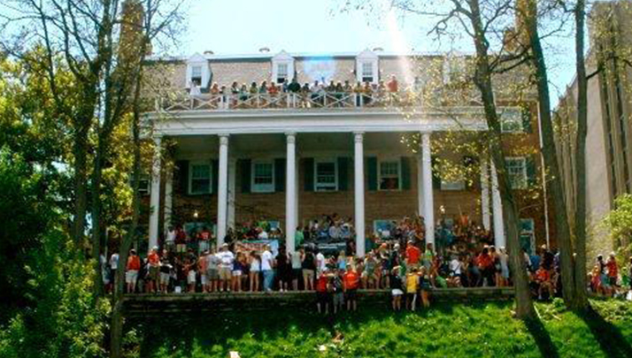 A Great Frat Castle Has Floor Space For Aggressive Dance Moves