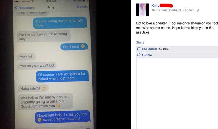 Cheating white girl