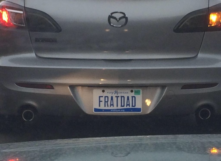 Creepiest license plate ever.