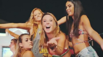 FSU Phi Kappa Tau Had An Oasis Party With Every Hot Girl In Their Bikini