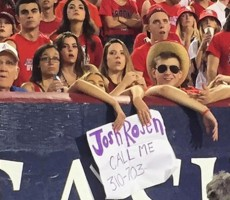 Sad Arizona Sorority Girl Wants UCLA QB Josh Rosen To Give Her A Holler