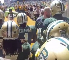Badass Footage Shows What It's Like To Run Out Of The Tunnel In Front Of 50,000 Fans