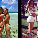 [POLL] Which Sorority Is Hotter- Texas Tech Zeta Tau Alpha or University Of Miami Delta Gamma?