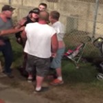 Demolition Derby Brawl Between Redneck Families Is The Most White Trash Thing You've Ever Seen