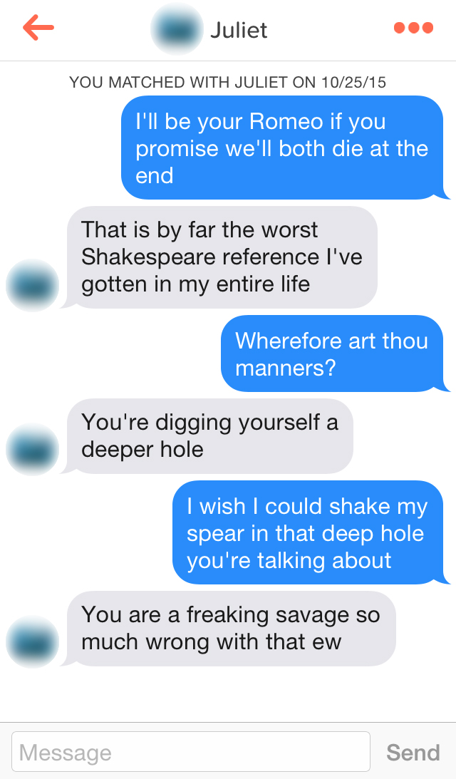 Shakespearean pick up lines