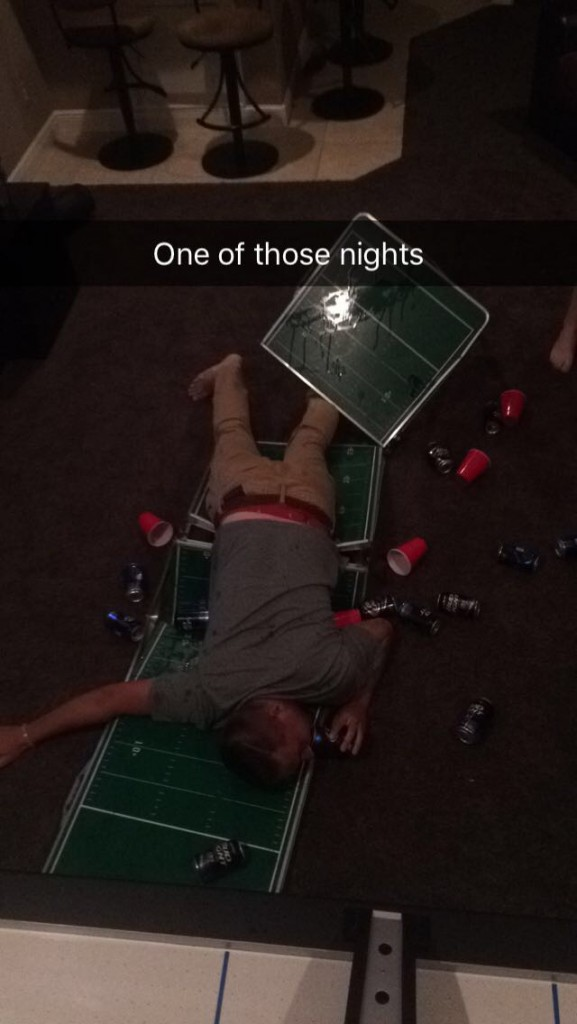 Stop dunking in beer pong, you stupid fucks.