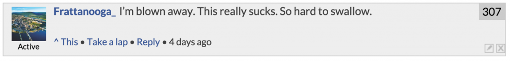 """I was aroused by this comment on the """"Blowjobs Cause Cancer"""" article."""