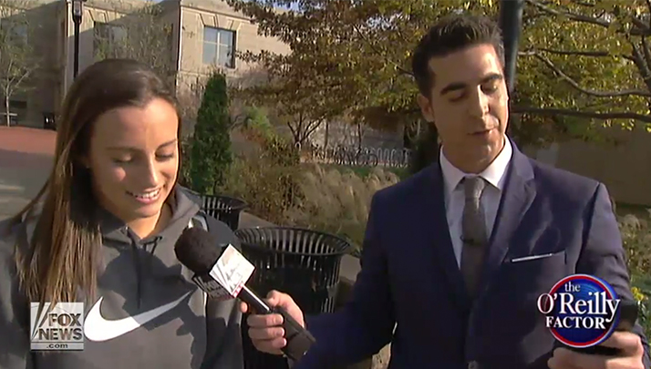 VIDEO- Jesse Watters Enters Mizzou's %22Safe Space%22 To Show How Ridiculous The Protestors Are