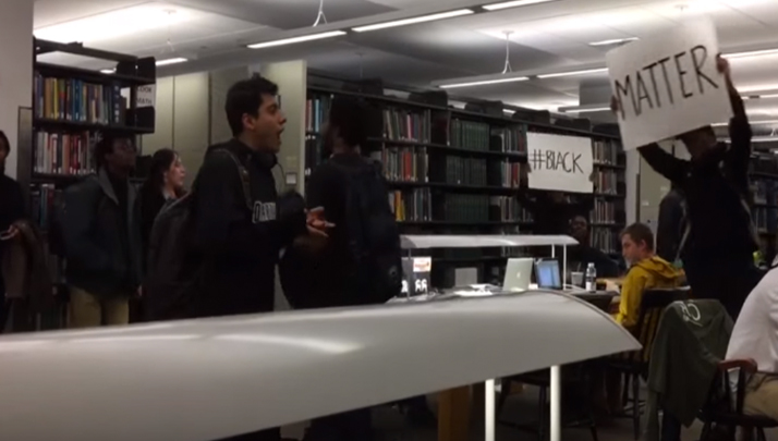 Dartmouth Joins Protest Wars, Gets Violent With White Students In Library