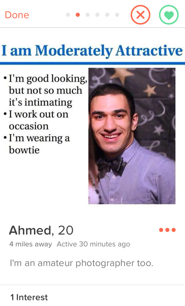 Total Frat Move | Hilarious Tinder Profiles That Actually Exist, Part 6