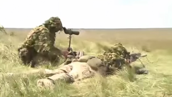 This Sniper Might Be Decent Seeing As How He Took Out 5 ISIS Militants With 3 Rounds