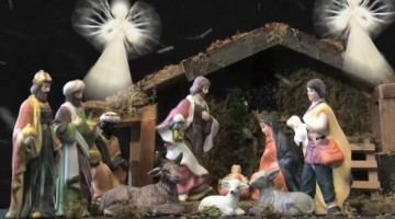 Drunk Driver Wrecks Car, Attempts To Hide Out In Nativity Scene