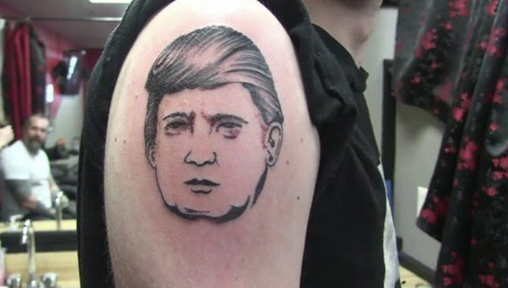 Trying To Show Your Support Of Trump? New Hampshire Tattoo Parlor Giving Away Free Trump Tats