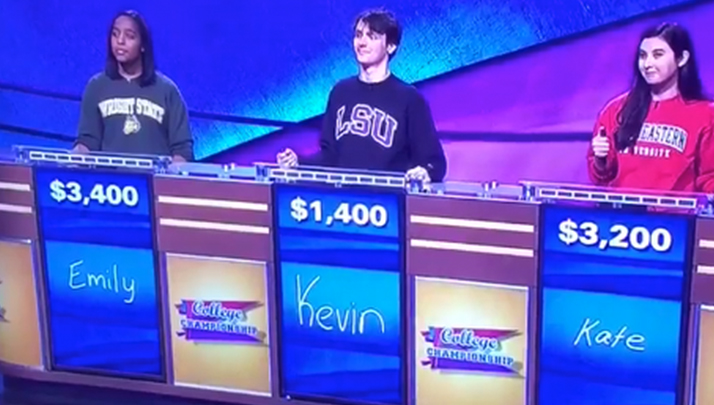 Idiot LSU Student Misses Two SEC Football Questions On Jeopardy
