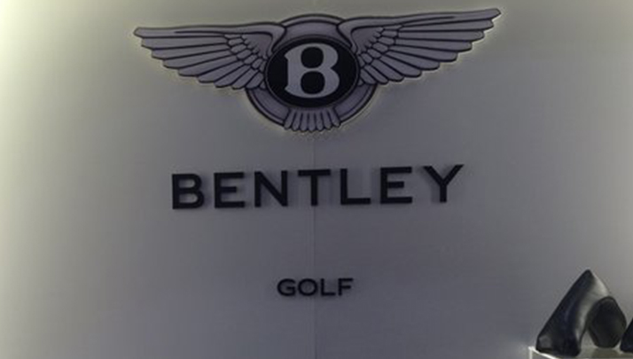I Need A Set Of These $100K Bentley Golf Clubs