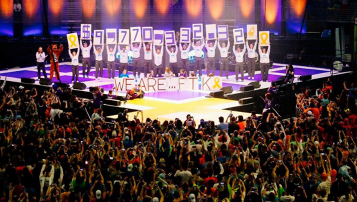 Penn State's THON 2016 Raised An Astounding $9.7 Million For Pediatric Cancer