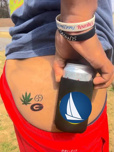 Spring break tattoos are getting worse and worse.