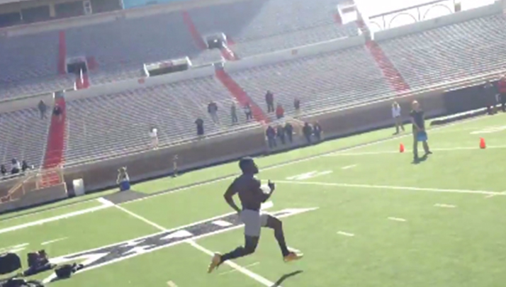 Multiple Teams Clocked Texas Tech WR Jakeem Grant With An Insane 4.1 Forty At His Pro Day
