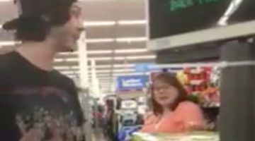 Lady Goes Postal On Welfare Family Over Politice While Shopping At Wal Mart Over