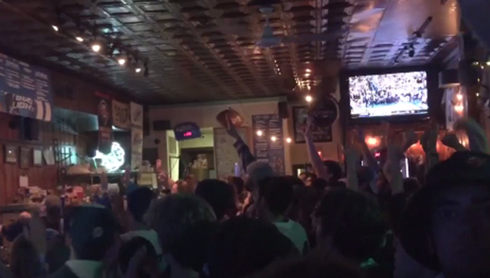 The Sounds From Philadelphia As Nova Defeats UNC Will Give You Chills