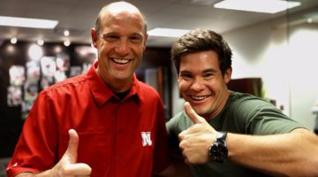 'Workaholics' Star Adam Devine Is Having A Blast At The University Of Nebraska