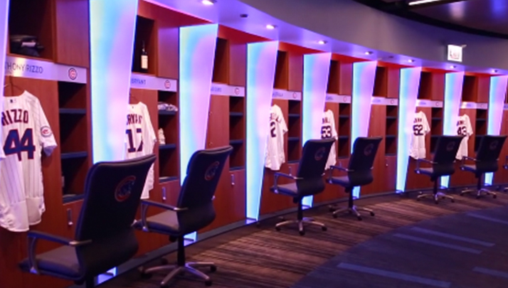 VIDEO- Chicago Cubs New Clubhouse Puts Every Other Team's To Shame
