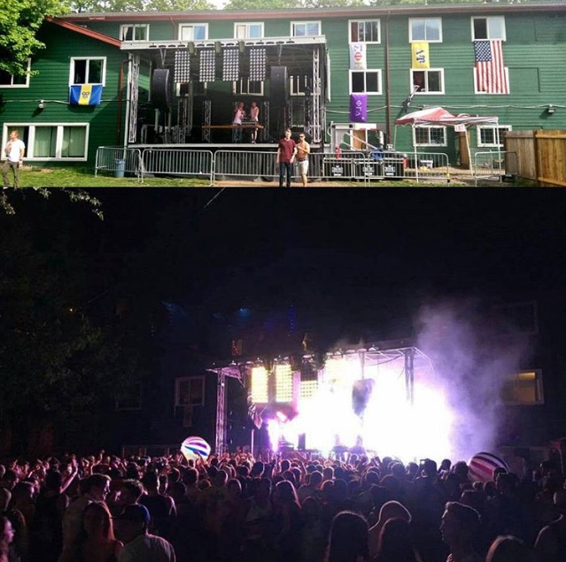 total frat move turning your backyard into a concert venue tfm
