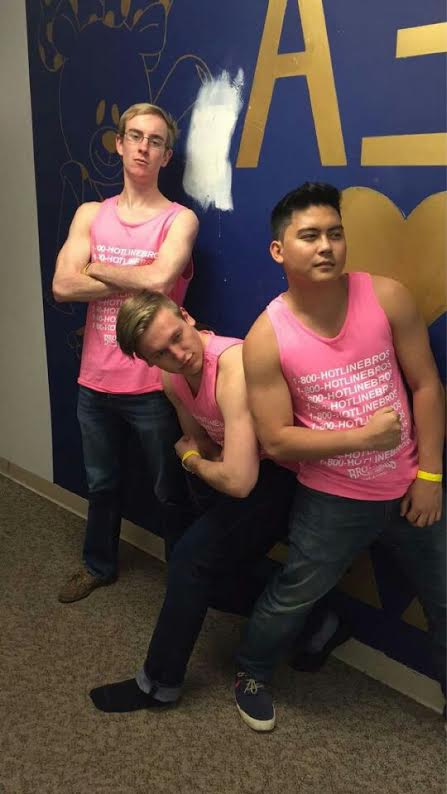 Real men wear pink.